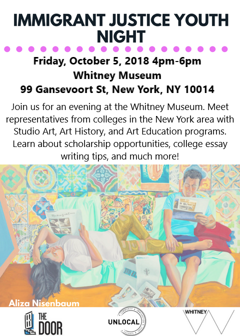 Whitney Museum: College Night
